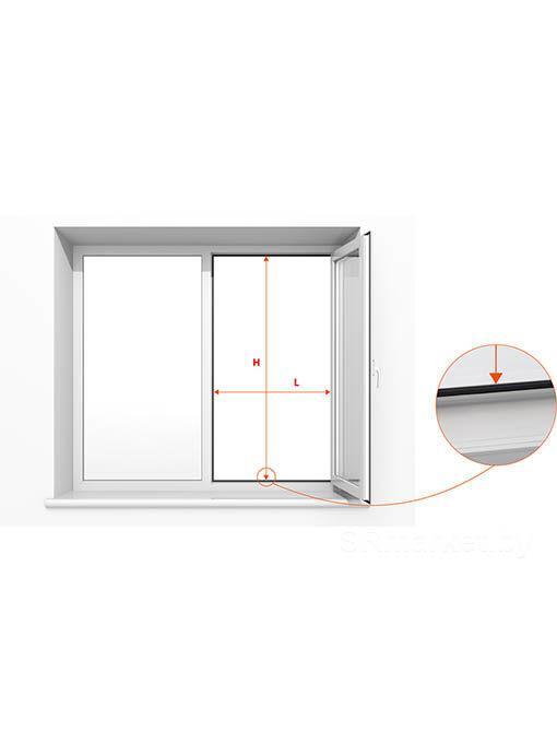 Москитная сетка любых размеров для окна ПВХ